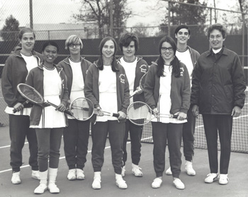 Fredonia Tennis Team, Fall 1970